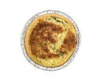 πίτα της Λωρραίνης ξινό Στοκ εικόνα με δικαίωμα ελεύθερης χρήσης