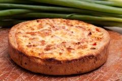 πίτα της Λωρραίνης Στοκ Φωτογραφία