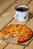 Πίτα της Apple και MAG Στοκ Εικόνες