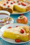 Πίτα της Apple με τα μούρα Στοκ Φωτογραφίες