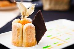 Πίτα της Apple με τη σοκολάτα Στοκ Φωτογραφίες