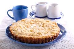 Πίτα της Apple με το λούστρο λεμονιών Στοκ Εικόνα