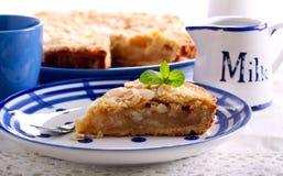 Πίτα της Apple με το λούστρο λεμονιών Στοκ Φωτογραφία