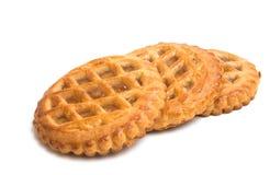 Πίτα της Apple που απομονώνεται Στοκ φωτογραφία με δικαίωμα ελεύθερης χρήσης