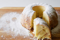 Πίτα της Apple Σαρλόττα Στοκ Φωτογραφίες
