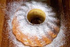 Πίτα της Apple Σαρλόττα Στοκ φωτογραφία με δικαίωμα ελεύθερης χρήσης