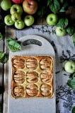 Πίτα της Apple σε μια στάση Στοκ Εικόνες