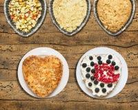 Πίτα της Apple, συγχρονισμένη παραγωγή, μορφή του hearton Στοκ φωτογραφία με δικαίωμα ελεύθερης χρήσης