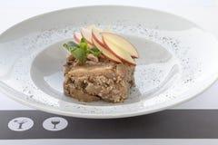 Πίτα της Apple, υγιές πρόγευμα στοκ φωτογραφίες με δικαίωμα ελεύθερης χρήσης