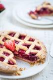 Πίτα της Apple, φραουλών και δικτυωτού πλέγματος του Blackberry Στοκ εικόνες με δικαίωμα ελεύθερης χρήσης