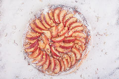 Πίτα της Apple Στοκ Φωτογραφία