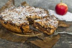 Πίτα της Apple Στοκ φωτογραφίες με δικαίωμα ελεύθερης χρήσης