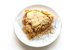 Πίτα της Apple Grandmas Στοκ εικόνα με δικαίωμα ελεύθερης χρήσης