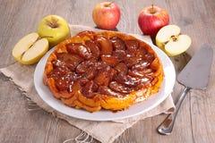 Πίτα της Apple, tarte tatin Στοκ φωτογραφία με δικαίωμα ελεύθερης χρήσης