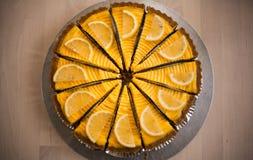 Πίτα τυριών λεμονιών Στοκ εικόνα με δικαίωμα ελεύθερης χρήσης