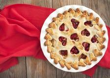 Πίτα των βακκίνιων της Apple Στοκ Φωτογραφία