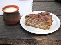 πίτα φαγόπυρου Στοκ εικόνες με δικαίωμα ελεύθερης χρήσης