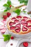 Πίτα φραουλών Στοκ εικόνα με δικαίωμα ελεύθερης χρήσης