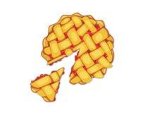 Πίτα φραουλών Στοκ φωτογραφία με δικαίωμα ελεύθερης χρήσης