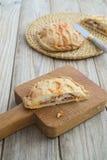Πίτα χοιρινού κρέατος Στοκ Εικόνες