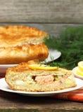 Πίτα ψαριών Στοκ Φωτογραφίες