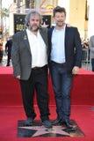 Πίτερ Τζάκσον & Andy Serkis Στοκ Φωτογραφίες