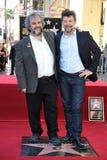 Πίτερ Τζάκσον & Andy Serkis Στοκ Εικόνες