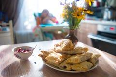 Πίτες κερασιών Στοκ φωτογραφίες με δικαίωμα ελεύθερης χρήσης