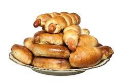πίτες κρέατος πιάτων Στοκ φωτογραφίες με δικαίωμα ελεύθερης χρήσης