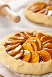 πίτες μήλων ακατέργαστες Στοκ Εικόνες
