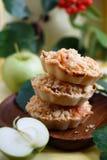 Πίτες μήλων Στοκ φωτογραφία με δικαίωμα ελεύθερης χρήσης