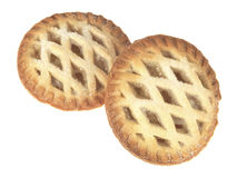 Πίτες μήλων Στοκ Εικόνες