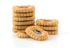 πίτες μπισκότων βακκινίων Στοκ φωτογραφία με δικαίωμα ελεύθερης χρήσης