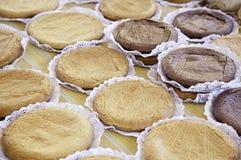 Πίτες και σοκολάτα της Apple Στοκ φωτογραφία με δικαίωμα ελεύθερης χρήσης