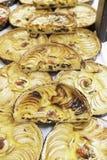 Πίτες της Apple σε μια αγορά Στοκ φωτογραφίες με δικαίωμα ελεύθερης χρήσης