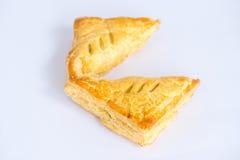 Πίτες της Apple στο άσπρο υπόβαθρο Στοκ Εικόνα