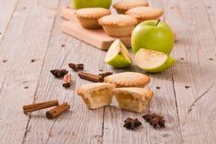 Πίτες της Apple Στοκ Εικόνες