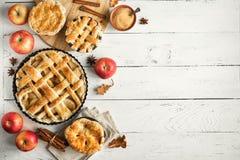 Πίτες της Apple στοκ φωτογραφίες