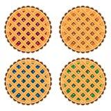 Πίτες φρούτων και μούρων Στοκ φωτογραφίες με δικαίωμα ελεύθερης χρήσης