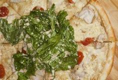 πίτσα έτοιμη στοκ εικόνες