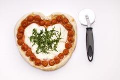 πίτσα αγάπης Στοκ φωτογραφίες με δικαίωμα ελεύθερης χρήσης