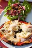 πίτσα γευμάτων Στοκ φωτογραφίες με δικαίωμα ελεύθερης χρήσης