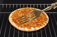 πίτσα δικράνων Στοκ φωτογραφία με δικαίωμα ελεύθερης χρήσης
