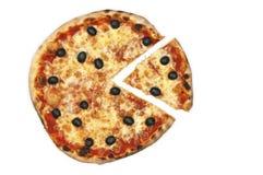 πίτσα ελιών Στοκ φωτογραφίες με δικαίωμα ελεύθερης χρήσης
