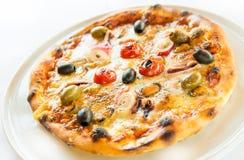 Πίτσα θαλασσινών Στοκ φωτογραφία με δικαίωμα ελεύθερης χρήσης