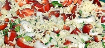 Πίτσα ιταλικά Στοκ Εικόνα