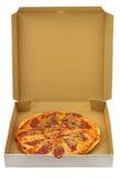 πίτσα κιβωτίων Στοκ Φωτογραφία