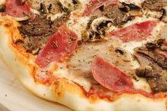 Πίτσα κρέατος Στοκ Εικόνες