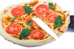 Πίτσα με τη φέτα Στοκ εικόνες με δικαίωμα ελεύθερης χρήσης