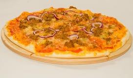 Πίτσα με τον κιμά στοκ εικόνες με δικαίωμα ελεύθερης χρήσης